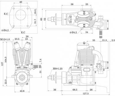 Saito FG-17 - 3