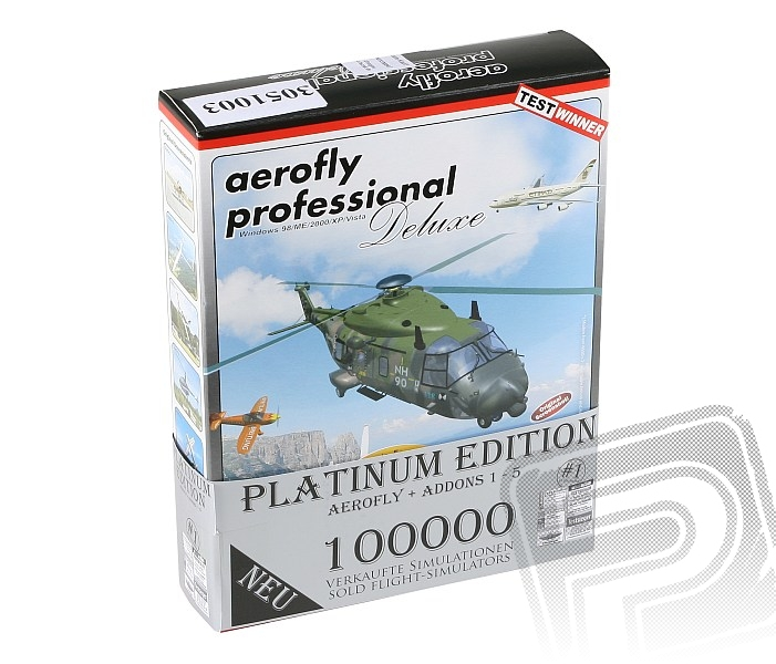 Aerofly Proffesional Deluxe platinum edition + USB rozhraní