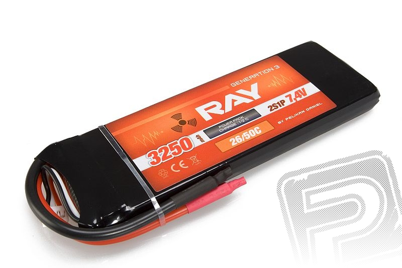 G3 RAY Li-Pol 3250mAh/7,4 26/50C Air pack
