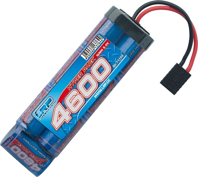 LRP - Power Pack 4600mAh - 8,4V - Stick pack - TRAXXAS