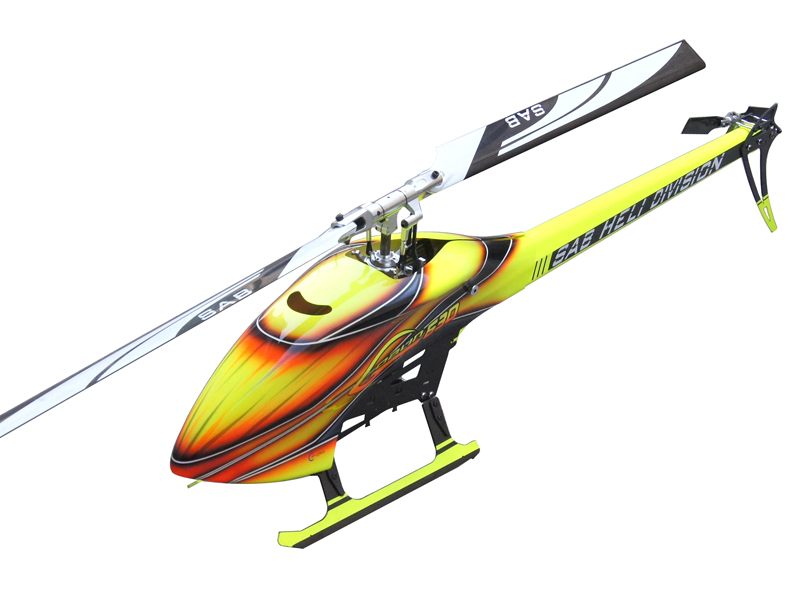 Sab Goblin 630 Flybarless Electric Helicopter Kit [SG630]