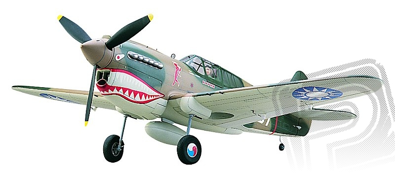 P-40E Warhawk .60 Gold Edition Kit 1625mm