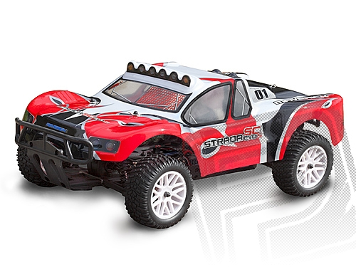 Strada SC EVO Brushless Short Course RTR s 2,4GHz RC soupravou, kar. č