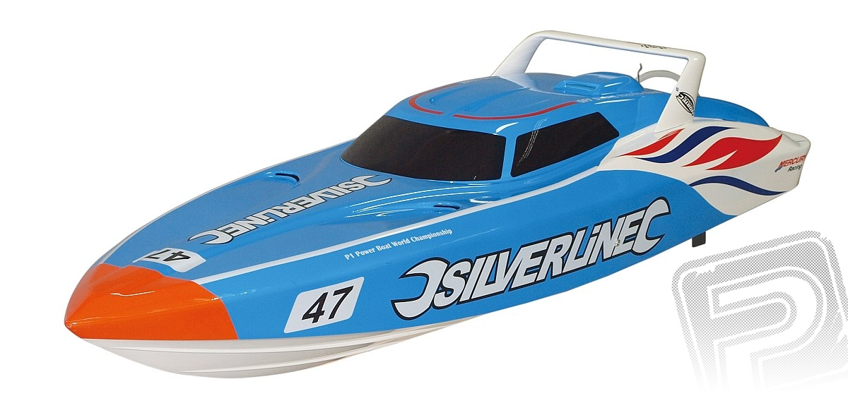 Silverline EP, rychl. člun brushless