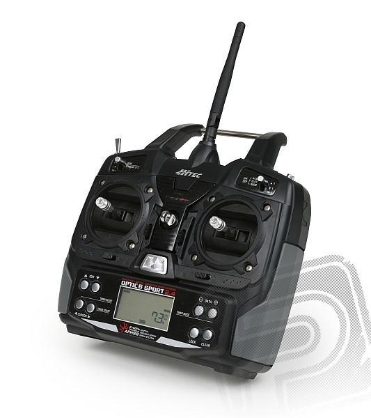 OPTIC 6 SPORT 2,4 GHz (mode 2), přijímač Optima 6         Kód 1HI1096  MO