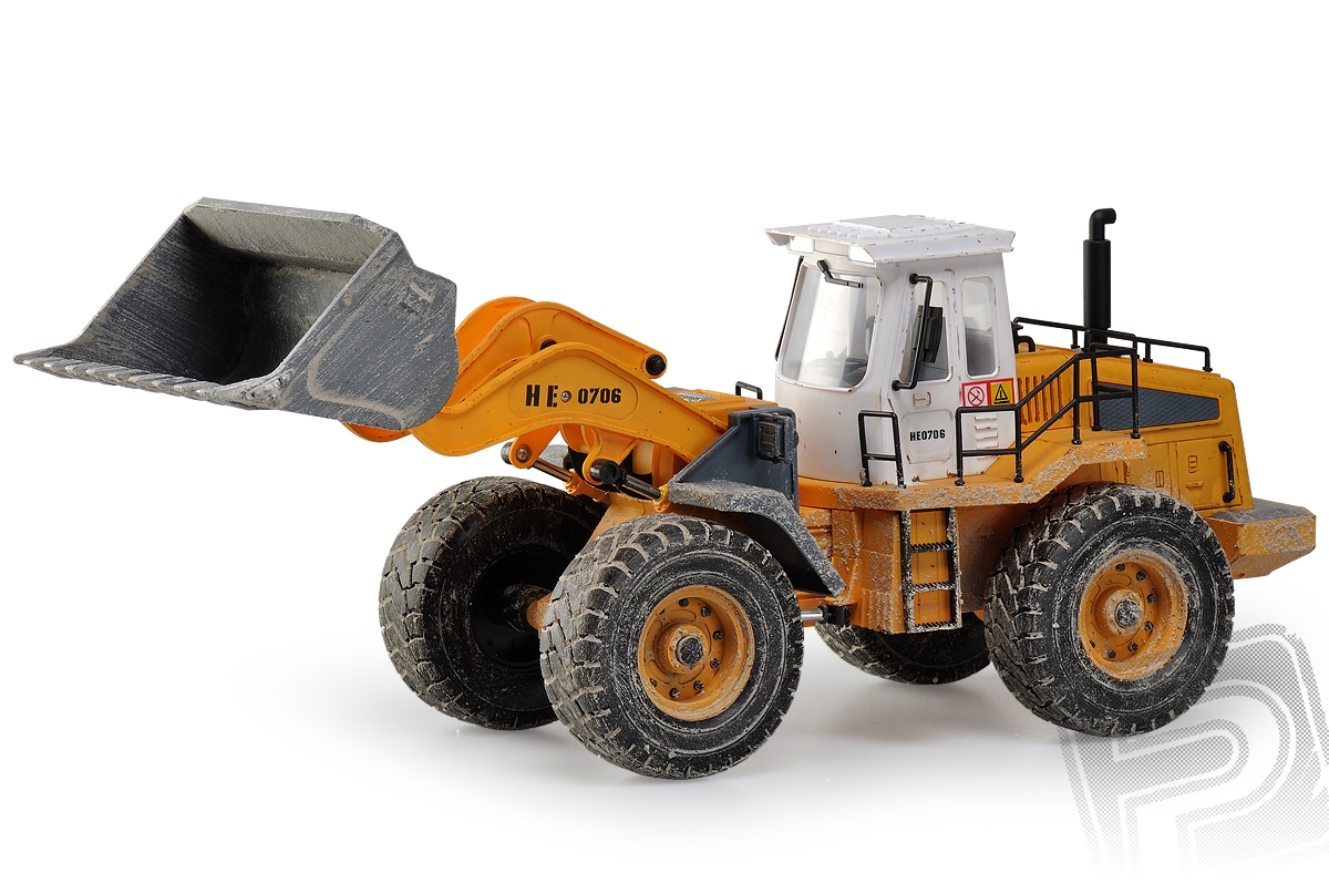 Wheeled Loader/Kolový nakladač RC set 2.4GHz