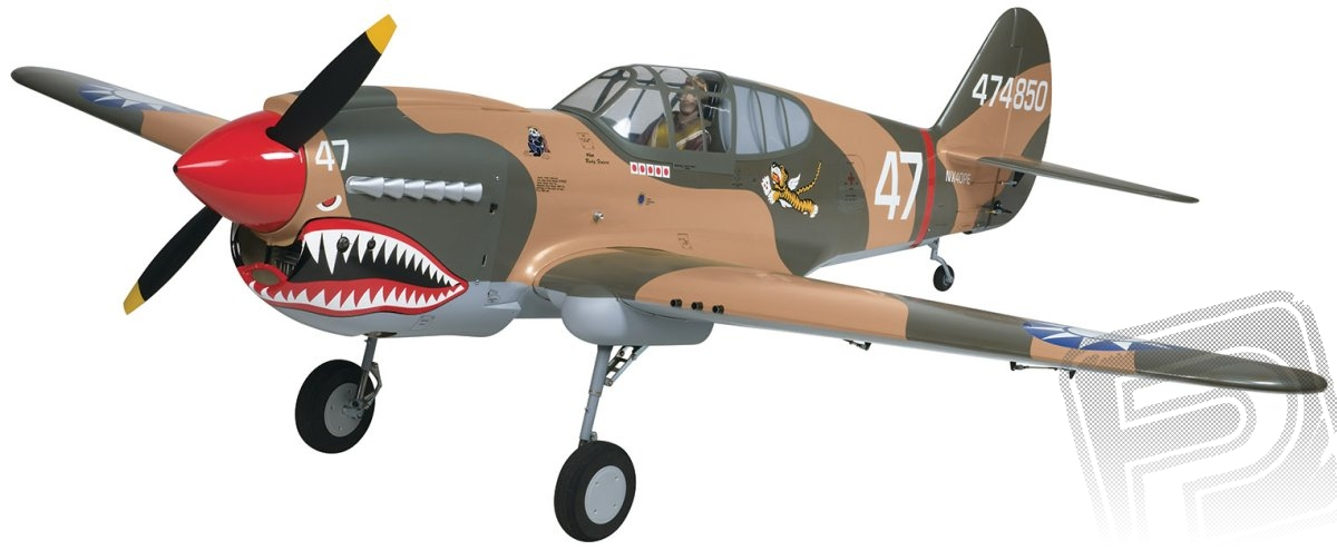 Giant P-40 Warhawk 40-60ccm 2185mm ARF