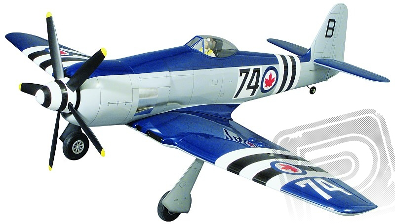 Sea Fury .60 Gold Edition Kit 1625mm