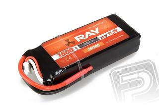 G3 RAY Li-Pol 1600mAh/11,1 26/50C Air pack