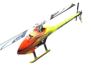 Sab Goblin 700 Flybarless Electric Helicopter Orange Kit [SG702]