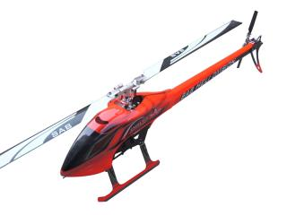 Sab Goblin 700 Flybarless Electric Helicopter červený  Kit [SG701]