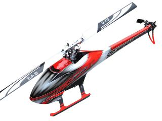 Sab Goblin 500 Flybarless Electric Helicopter červeno bíly Kit [SG500]