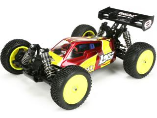 Losi Mini8 1:14 4WD Brushless červená RTR