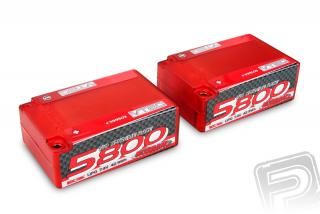 N999503NOSRAM LiPo 1/10 Competition Car Line Saddle Pack Hardcase 5800 - 110C/55