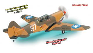 P40 KITTY HAWK .61-.91 SCALE 1:7 ARF