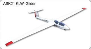 ASK-21 KLW Glider