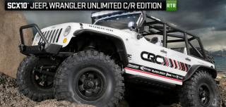 SCX10 Jeep® Wrangler Unlimited C/R Edition RTR