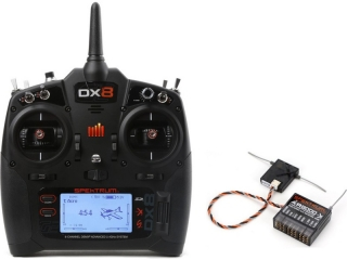 Spektrum DX8 G2 DSMX, AR8000