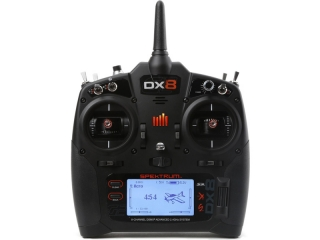Spektrum DX8 G2 DSMX Mód 1-4, Serial Race