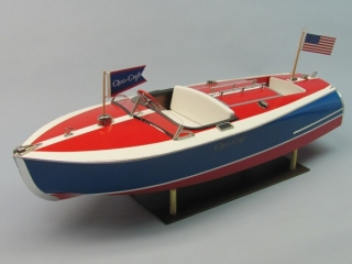 1938 CHRIS-CRAFT 16' PAINTED RACER, KIT 1263