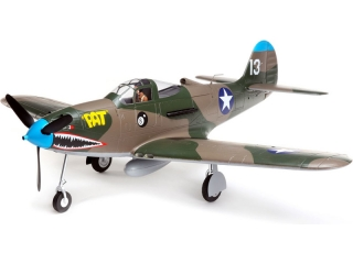 E-flite P-39 Airacobra 1.2m SAFE Select BNF Basic