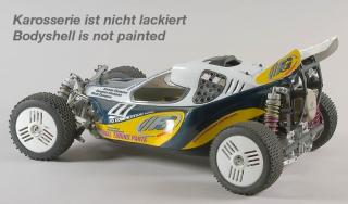FG Leopard 2 Competition 1/6 Buggy 2wd s hydr. brzd., čirá karoserie